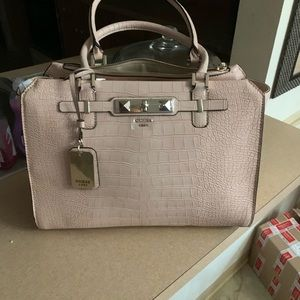 New light pink Ladies Guess purse